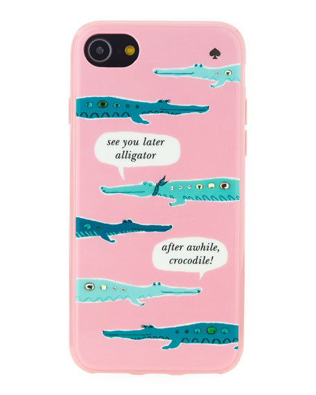 jeweled alligator iPhone® 7/8 case