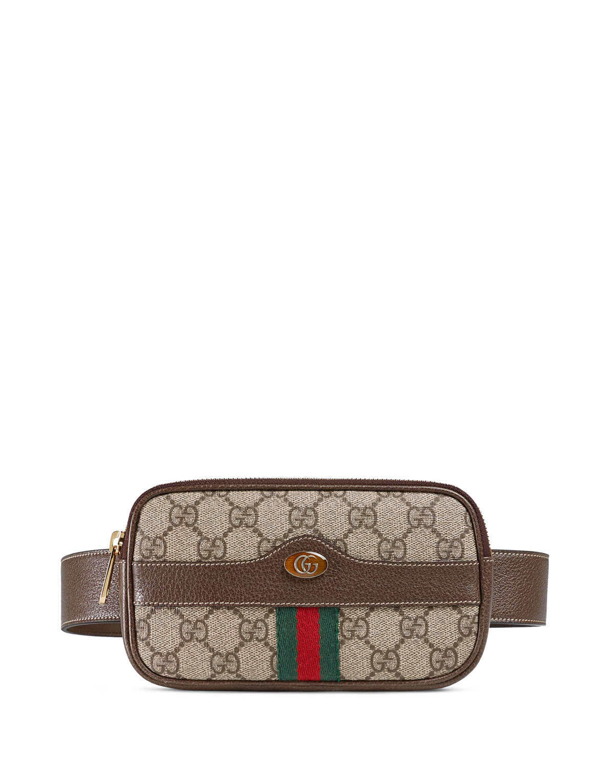 194cfb86ff24 Gucci Ophidia GG Supreme Canvas Belt Bag