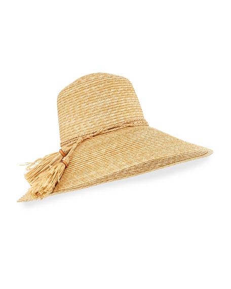 Rope Swing Woven Sun Hat
