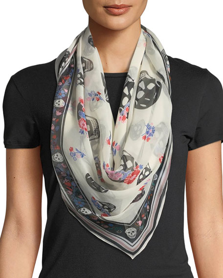 Crown Skull Scarf