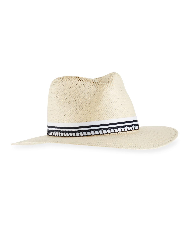 6f1d477662714 Rag   Bone Packable Straw Fedora Hat