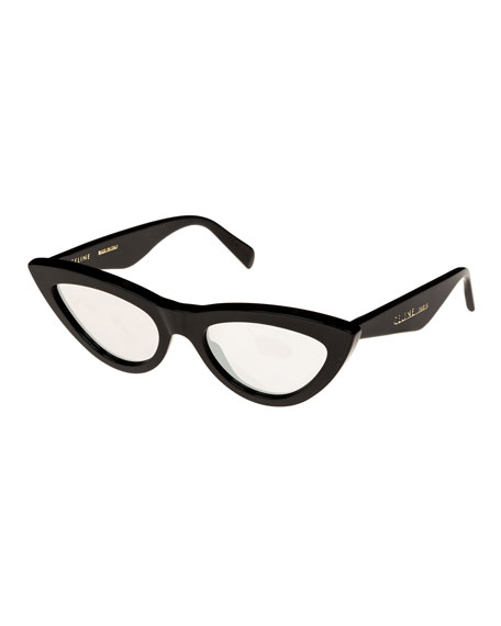 Celine Exaggerated Cat-Eye Sunglasses