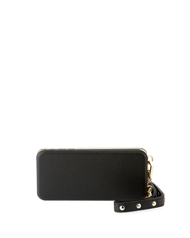de55bda5a0aa Rebecca Minkoff Mirrored Leather Folio Phone Case for iPhone 7 8 Plus