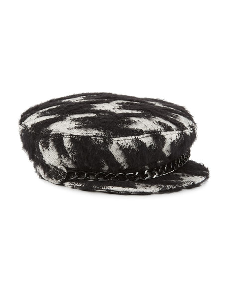 Eugenia Kim Marina Cotton/Mohair-Blend Newsboy Hat