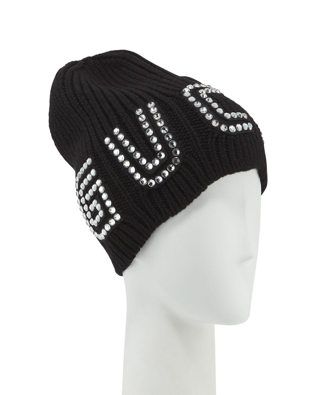 352f7f550147a Gucci Game Guccy Rib-Knit Wool Beanie Hat