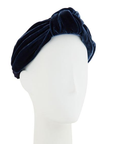 Ophelia Velvet Knotted Headband