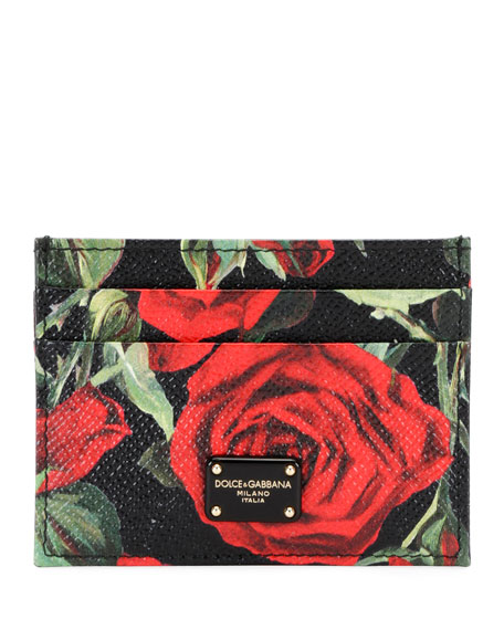 Roses Stampa Dauphine Card Case