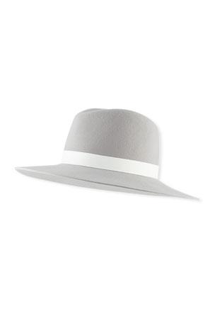 Janessa Leone Henningsen Wool Fedora Hat