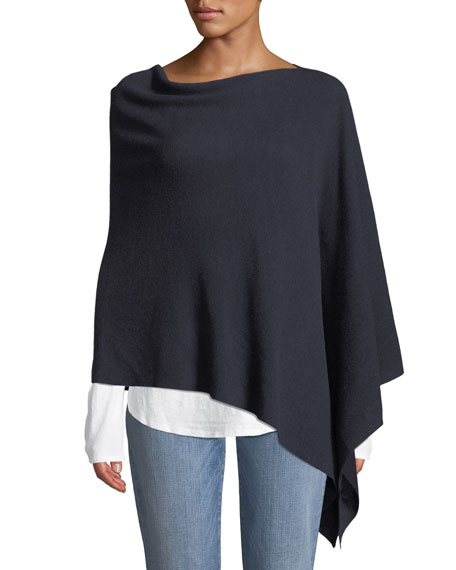 Merino Wool Link Poncho