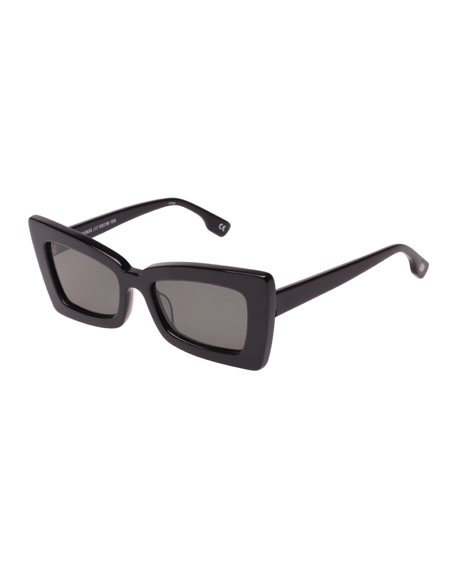 Le Specs Luxe Zaap Cat-Eye Acetate Sunglasses