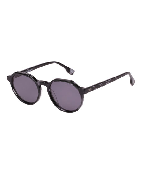 Le Specs Luxe Bang Acetate Monochromatic Sunglasses