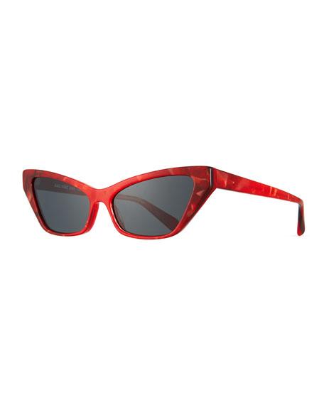 Alain Mikli Le Matin Acetate Cat-Eye Sunglasses