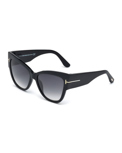 Anoushka Butterfly Sunglasses  Black