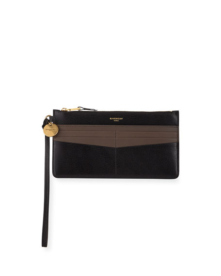 Givenchy GV3 Long Zip Card Case with with Wristlet