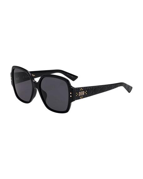 Dior Lady Dior Studs Square Sunglasses