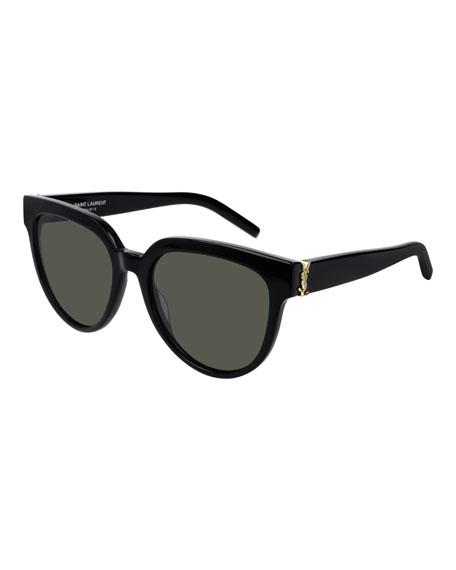 Saint Laurent YSL Acetate Cat-Eye Sunglasses