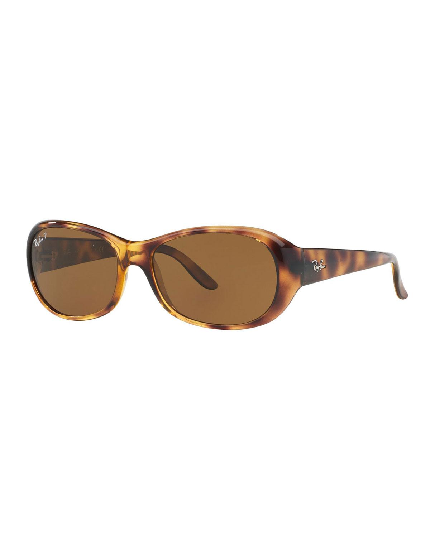 3834ec54df4df Ray-Ban Polarized Oval Sunglasses