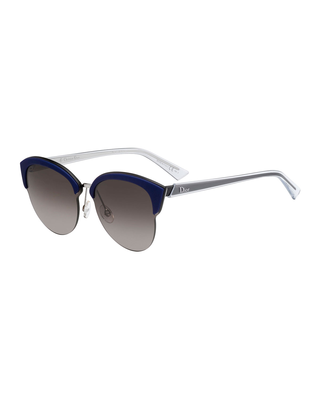 362d2a6052 Dior Run Capped Cat-Eye Sunglasses