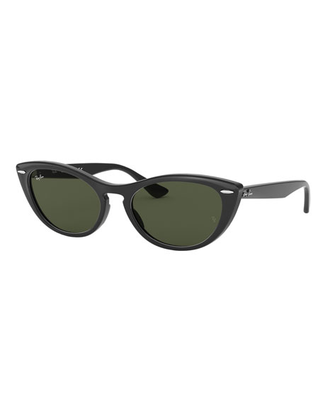 Ray-Ban Cat-Eye Monochromatic Sunglasses