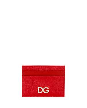 Dolce   Gabbana St. Dauphine Crystal-DG Card Case 020b6c746f245