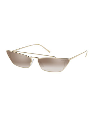 a20f869484c4 Prada Sunglasses   Square   Cat-Eye Sunglasses at Neiman Marcus