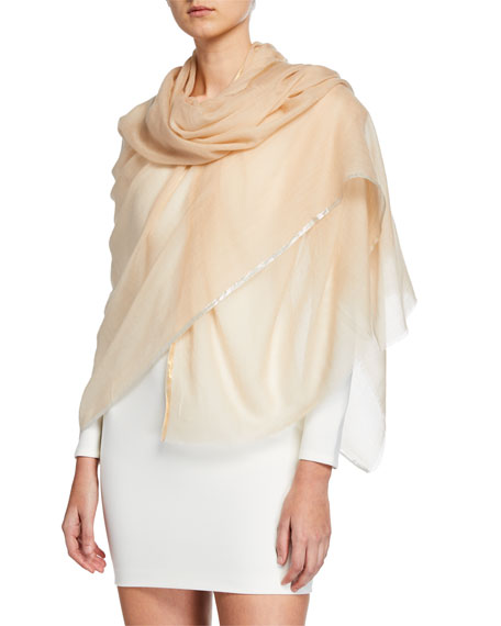 Bindya Accessories Sparge Cashmere Shiny Stripe Stole