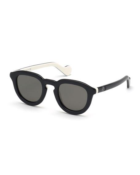 Moncler Polarized Rectangle Sunglasses
