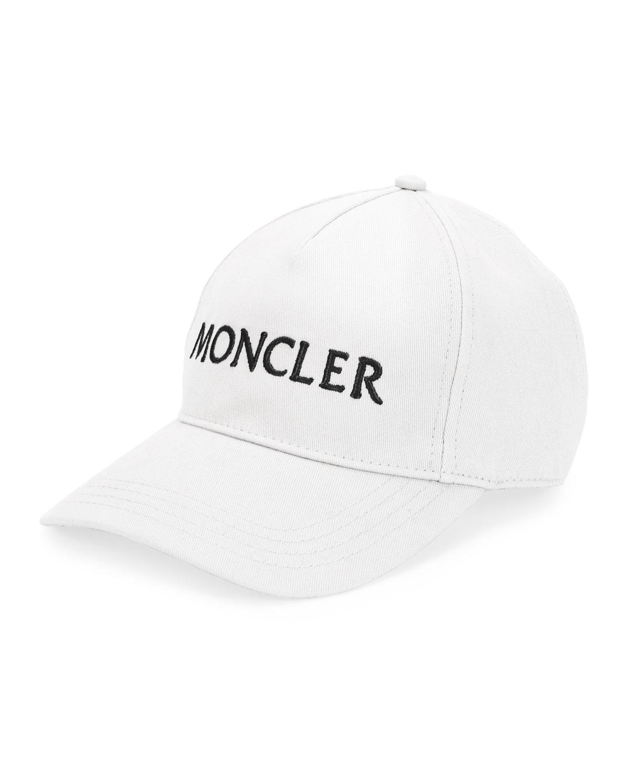 b6de8ab83b3 Moncler Logo Text Baseball Cap