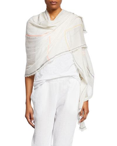Patchwork Organic Cotton Wrap