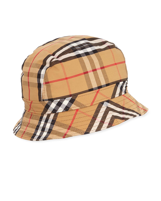 2fb31c2b03aacd Burberry Vintage Check Bucket Hat | Neiman Marcus
