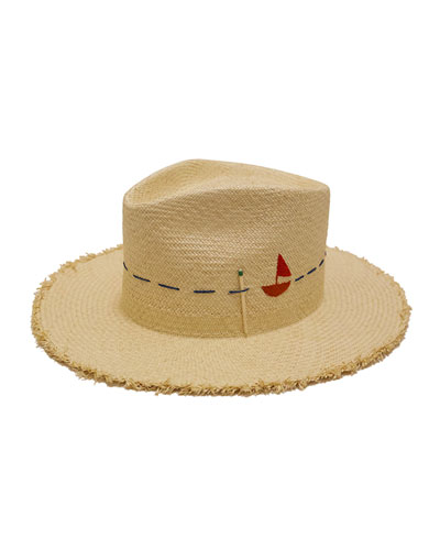 Little Havana Sailboat Fedora Hat