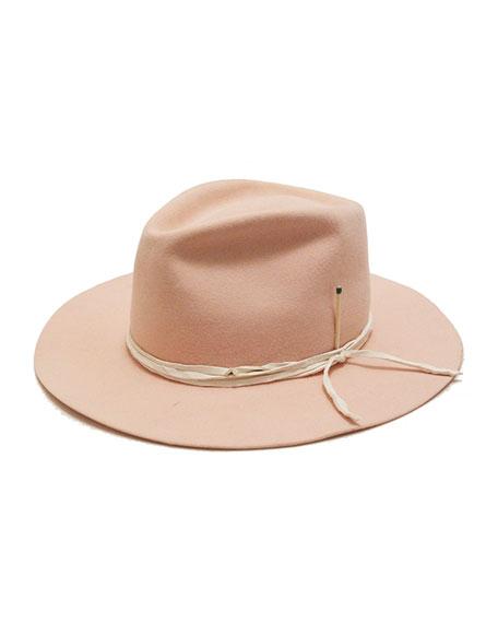 Nick Fouquet Vaya Con Dios Beaver Felt Fedora Hat