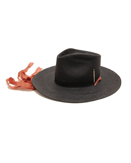 Nick Fouquet Brock x Nick 1 Straw Panama Hat