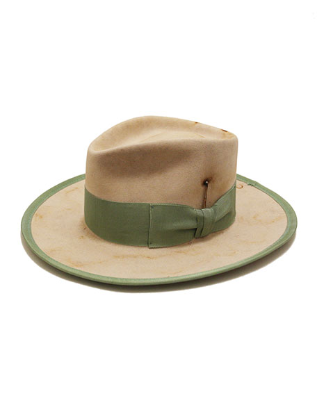 Nick Fouquet Trinidad Lightweight Beaver Felt Fedora Hat