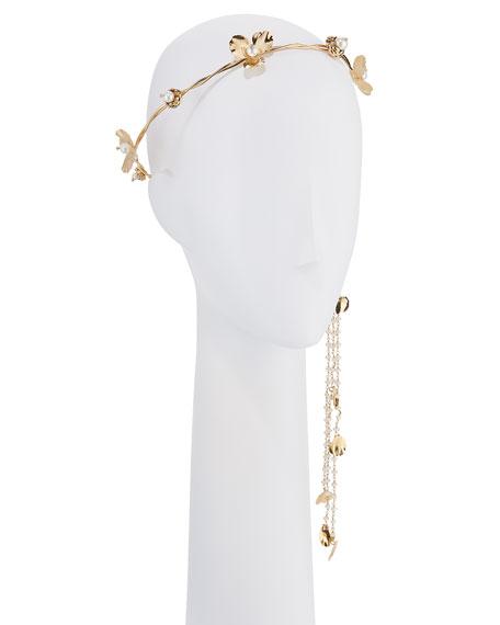 Rosantica Poesia Brass Floral Headband