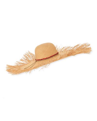 Hippie Extra Frayed Brim Hat