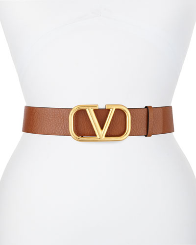 Go Logo 40mm Leather Belt