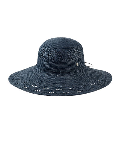 Bernadette Raffia Sun Hat