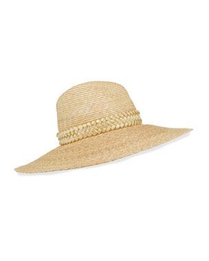 8947f267 Gigi Burris Jeanne Hand-Blocked Straw Panama Hat