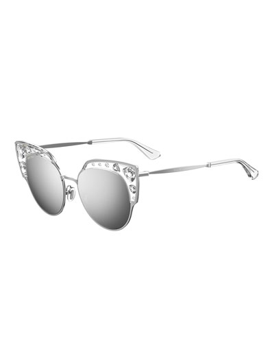 Audrey Metal Round Sunglasses