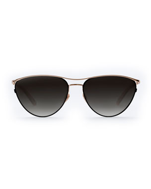 ec076f2baf4 KREWE Women s Sunglasses  Round   Aviator Glasses at Neiman Marcus