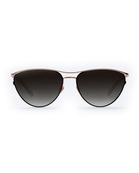 Krewe Sunglasses COHN CAT-EYE SUNGLASSES