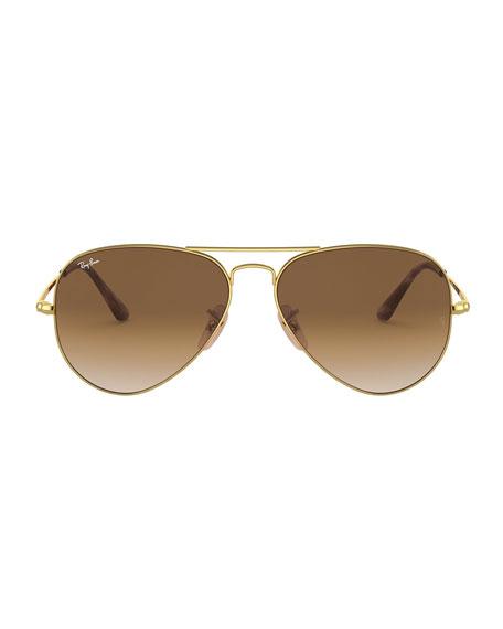 Ray-Ban Gradient Metal Aviator Sunglasses
