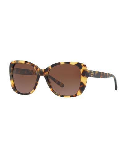 Gradient Rectangle Sunglasses