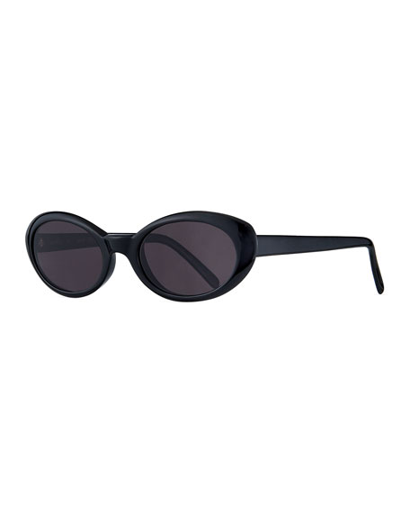 Image 1 of 3: Illesteva Seattle Oval Acetate Sunglasses