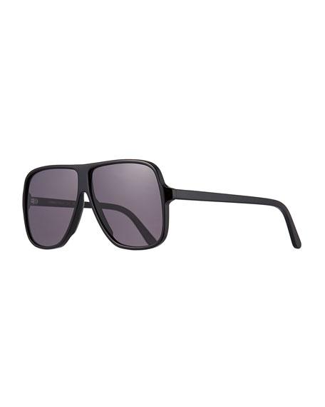 Illesteva Connecticut Square Acetate Sunglasses
