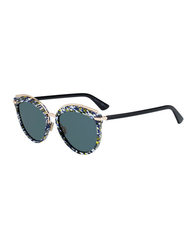 6c837dc84a2 Offset2 Round Acetate   Metal Sunglasses