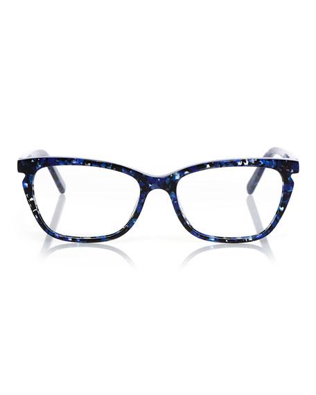 Eyebobs Miss Demeanor Cat-Eye Acetate Sunglasses