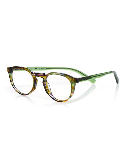 BYOB Round Acetate Reading Glasses