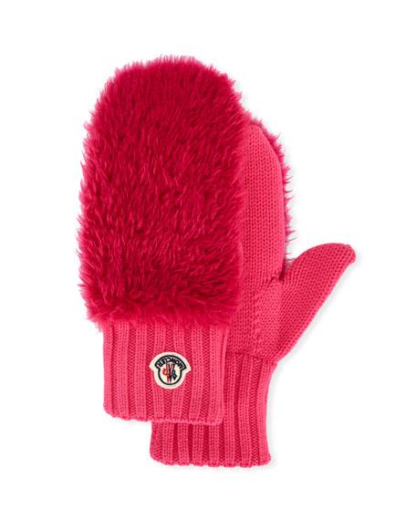Moncler Faux Fur Gloves